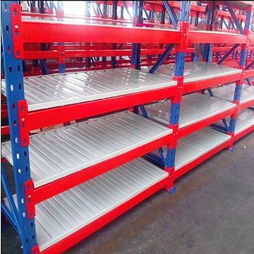 4 Layers Stainless Steel Storage Shelving Units with Casters Use in Garage Warehouse