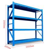 Black Custom Light Duty Metal Frame Shelf Goods Rack for Warehouse / Steel Warehouse Storage Rack Shelves